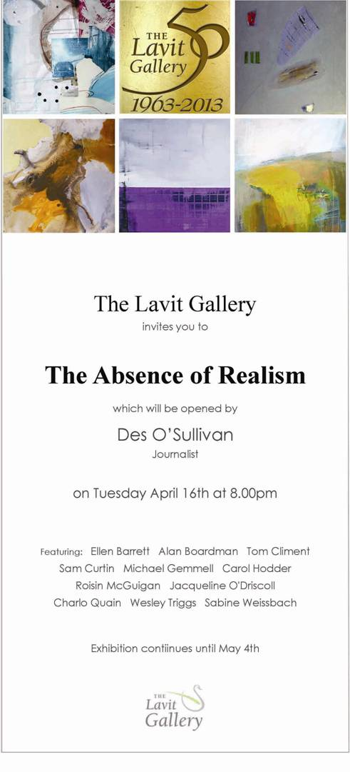 The Lavit Gallery Group Exhibition Invitation